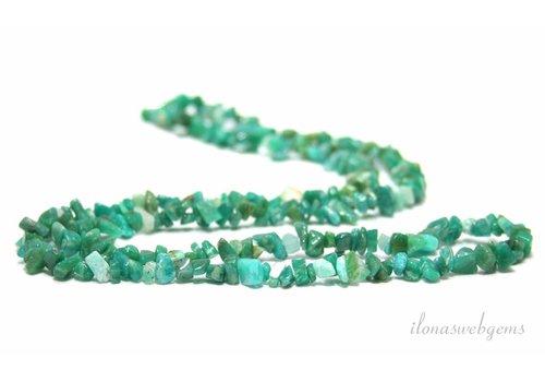 Russian Amazonite Split Perlen fein 5mm