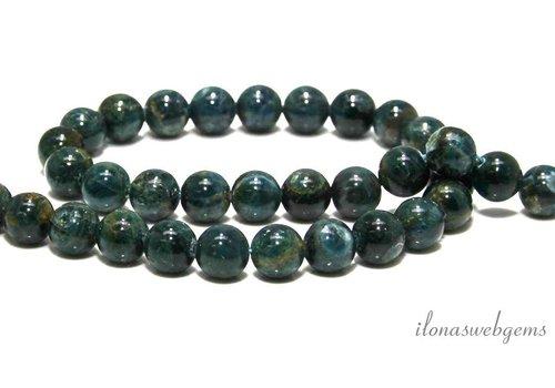 Apatite beads around 10.5mm