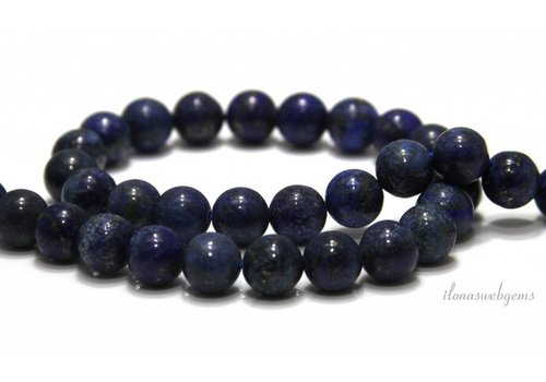 Lapis lazuli beads around 10mm