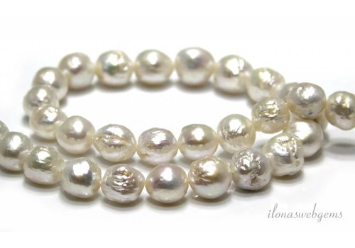 Baroque pearls approx. 12x11mm
