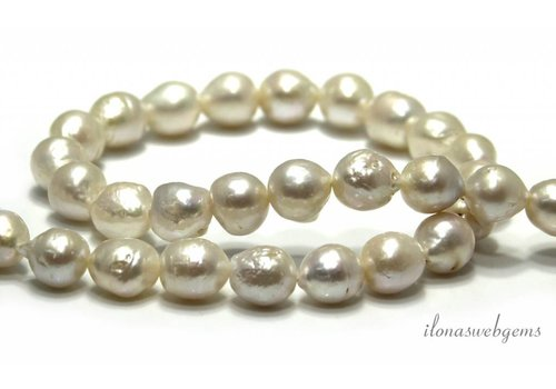 Baroque pearls approx. 13x11mm