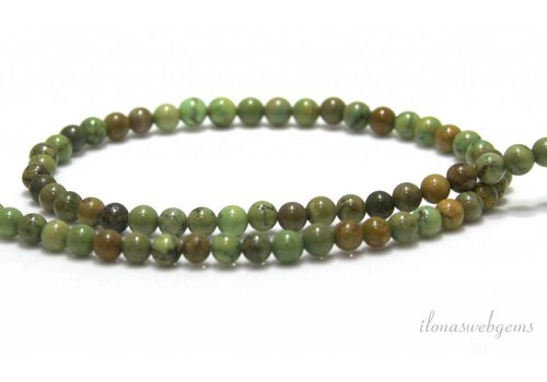 Xingjiang Turquoise beads around 4.5mm