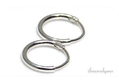 1 Paar Sterling Silber Ohrringe ca. 10mm