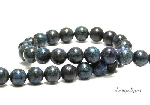 Howlith Perlen um 10,5 mm