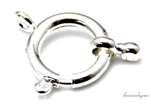 10 pieces veerring silvered