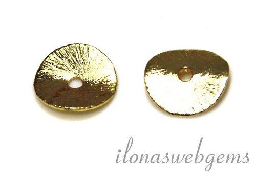 1 Stück vergoldeter Chip ca. 4mm