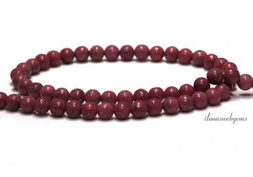 Rhodonite beads around 6mm