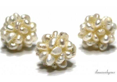 Süßwasserperlen Perlen um 15mm