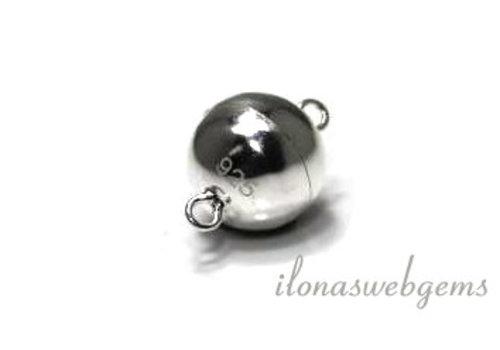 Sterling zilveren magneetslotje ca. 10mm