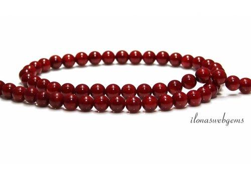 Coral beads around 6mm