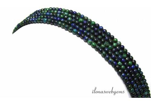 Chinese Chrysocolla beads around mini around 2.6mm