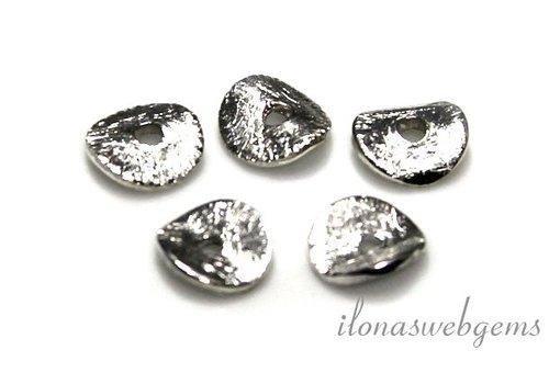 Sterling zilveren chips 6mm