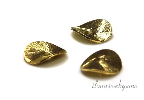 Vermeil chips brushed ca. 8mm