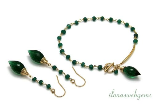 Inspiration: Chain with Emerald