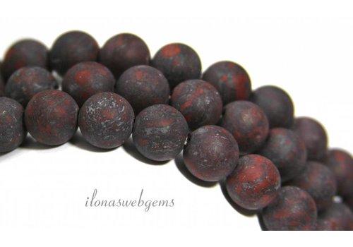 Jasper beads mat around 10mm