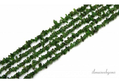 Diopside beads split app. 5mm