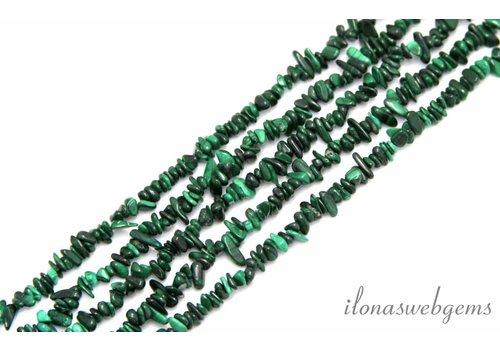 Malachite beads split app. 5mm