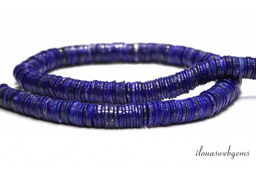 Lapis lazuli kralen discs ca.10-11mm