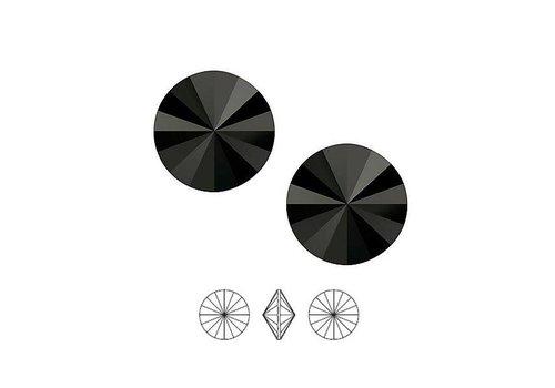 Swarovski Rivoli Point Stein 1122 / 12mm Kristall F - Copy - Copy - Copy - Copy