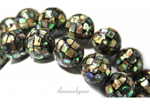 Abalone beads around 16mm - Copy