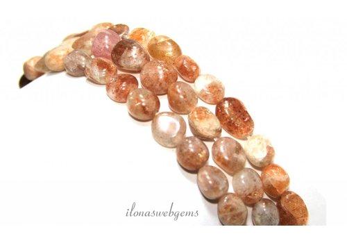 Sonnenstein Perlen Armband ca. 7x5mm
