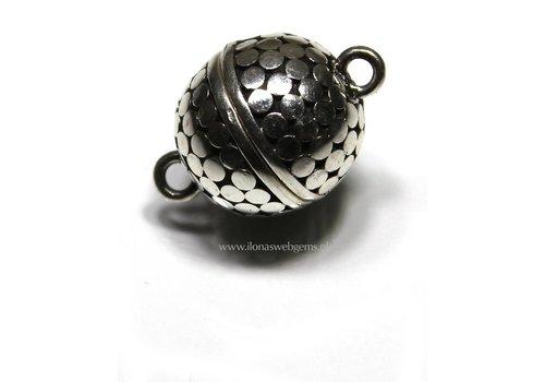 Sterling silver magnet lock - Copy