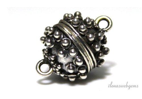Sterling silver magnet lock