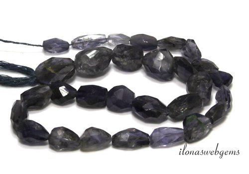 iolite beads free shape mix - Copy - Copy - Copy