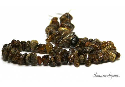 Amber / Amber beads approx. 10x6mm
