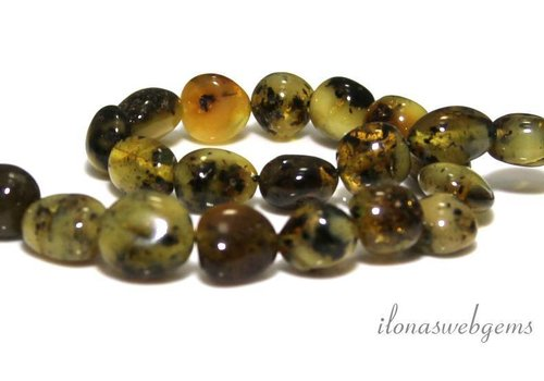 Amber / Amber beads approx. 10x8mm
