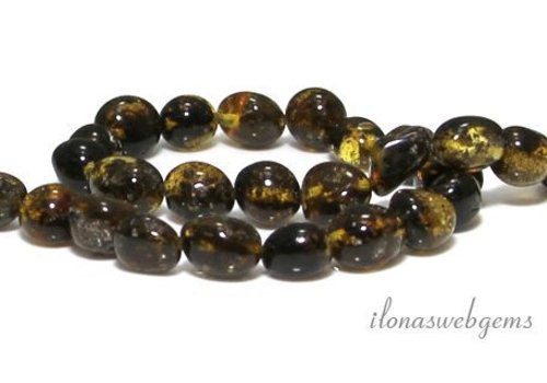 Amber / Amber beads approx. 7x5mm