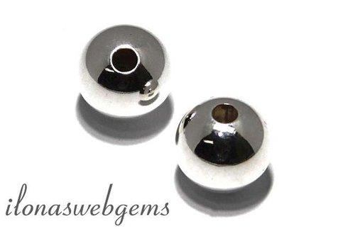 Sterling Silber Abstandhalter / Perle ca. 8mm
