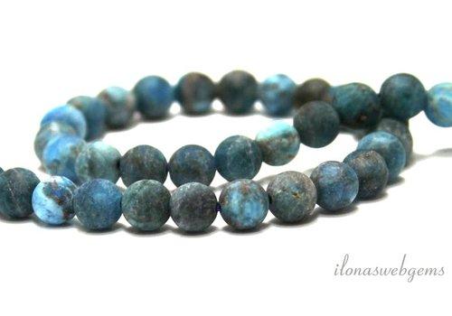 Apatite beads mat around 6mm