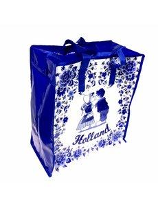 Shopper bag kissing pair