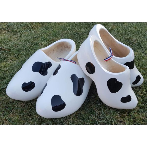 Cow clogs with cow spots