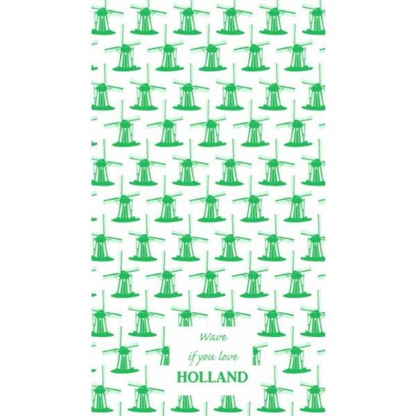 Toweltje Toweltje molen groen