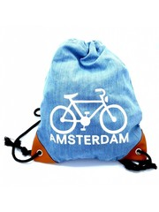 Amstel bags Amstel Bag light blue bike