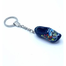 Woodenshoe keyhanger 1 shoe Blue