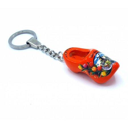 Woodenshoe keyhanger 1 shoe Orange