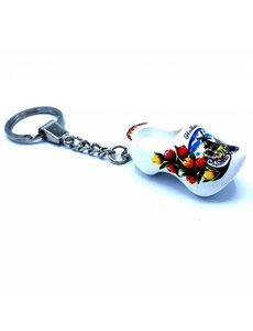 Woodenshoe keyhanger 1 shoe White