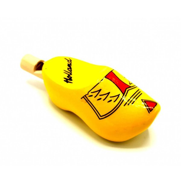 Woodenshoe wistle Farmer yellow