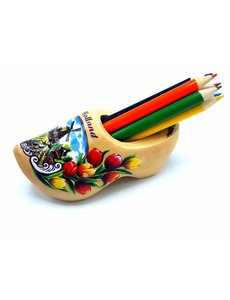 Pencil clog with 6 pencils Transparent