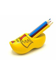 Pencil clog with 6 pencils Farmer yellow