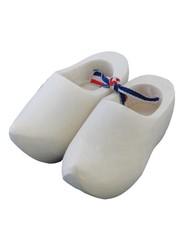 Souvenir woodenshoes 8cm sanded