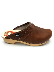 Swedish Clogs Brown