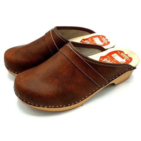 Swedish Clogs Brown