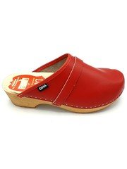 DINA Swedish clogs Red  - Dina shoes
