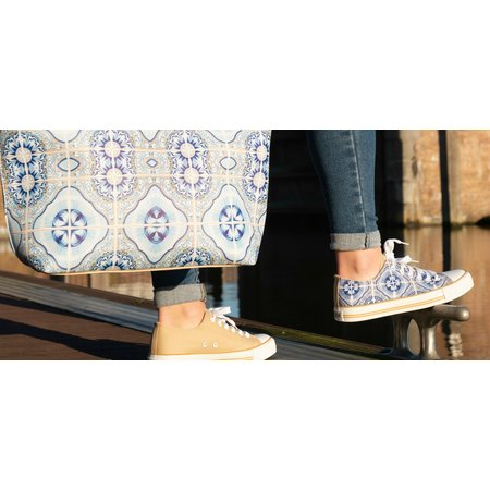 Hollandse sneakers 'Traditional tiles'