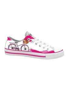 Hollandse sneakers 'Pink bicycle'