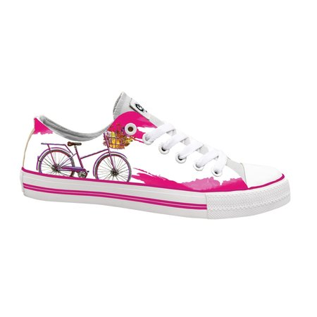 Hollandse sneakers 'Pink bicycle'